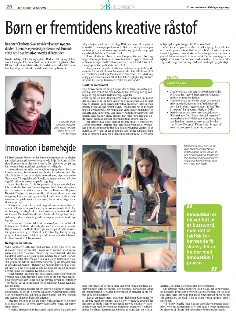helsingoer dagblad 1212 charlotte skak innovation børn